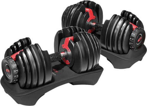 Bowflex SelectTech 552i Verstelbare dumbbells - 2 tot 24 kg Main Image