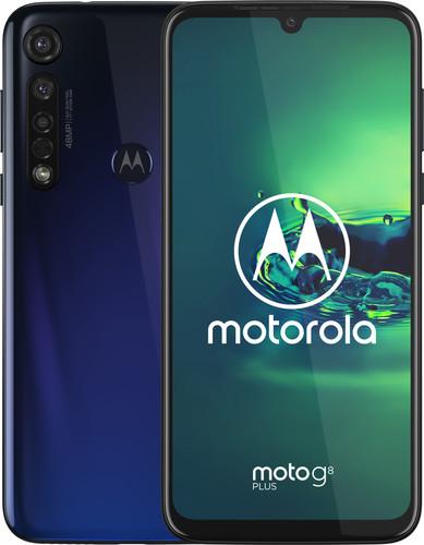 Motorola Moto G8 Plus Bleu Main Image
