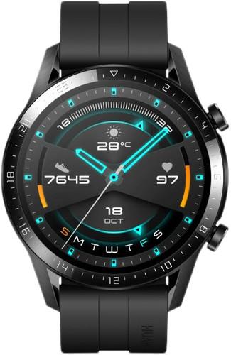 Huawei Watch GT 2 Zwart 46mm Main Image