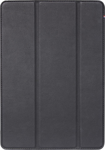Decoded Slim Cover Cuir Apple iPad (2019) Book Case Noir Main Image