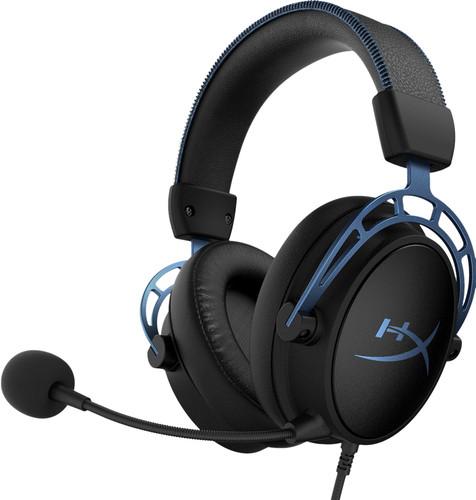 HyperX Cloud Alpha S Pro Gaming Headset Zwart/Blauw Main Image