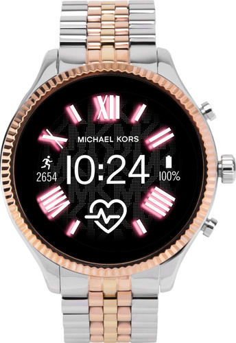 Michael Kors Access Lexington Gen 5 MKT5080 - Argent/Or Rose Main Image