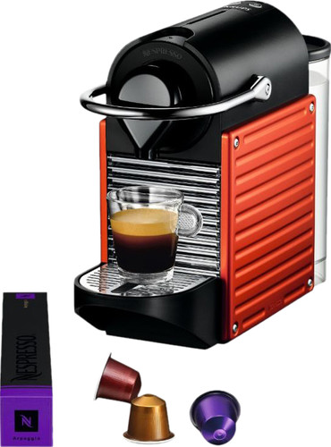Krups Nespresso Pixie Electric Red XN304510 Main Image