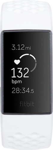 Fitbit Charge 3 Special Edition Graphite/White Main Image