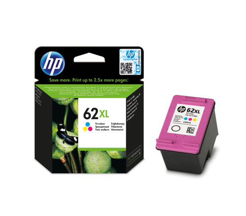 HP 62XL Cartouche 3 Couleurs (C2P07AE) Main Image