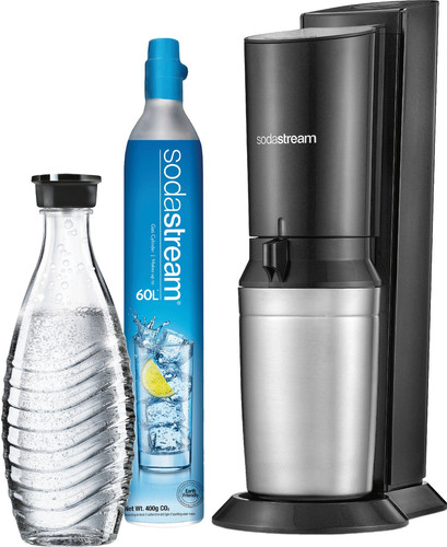 SodaStream Crystal Zwart Main Image