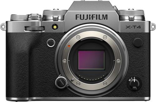 Fujifilm X-T4 Body Zilver Main Image