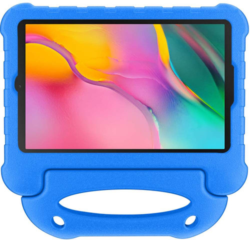 Just in Case Samsung Galaxy Tab A 10.1 (2019) Kids Cover Ultra Blauw Main Image