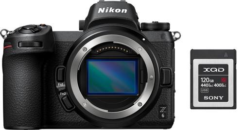 Nikon Z6 + FTZ Adapter + 120 GB XQD Geheugenkaart Main Image