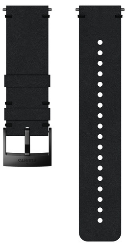 Suunto Urban 2 24mm Leather strap Black Main Image