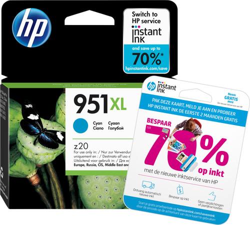 HP 951XL Cartouche d'encre Officejet Cyan (CN046AE) Main Image