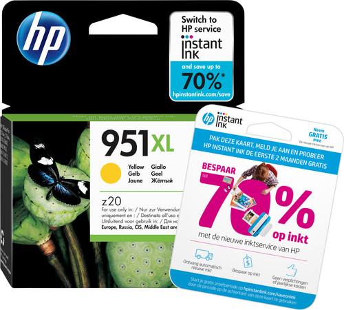 HP 951 Officejet Cartouche Jaune XL (CN048AE) Main Image