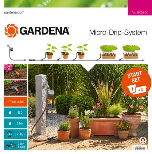 Gardena Micro Drip Start M Set Programmateur électronique d'arrosage Main Image
