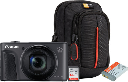 Starter Kit - Canon Powershot SX730 Black Main Image