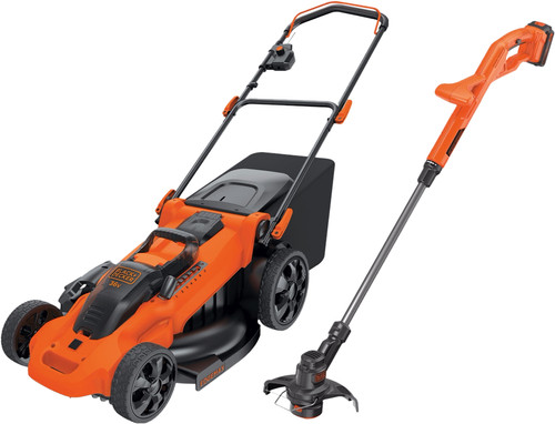 Mowing package BLACK+DECKER CLMA4820L2-QW + BLACK+DECKER ST182320-QW Main Image