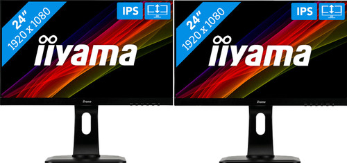 iiyama ProLite XUB2492HSU-B1 Duo Setup Main Image