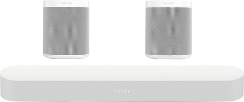 Sonos Beam 5.0 + One (2x) Wit Main Image