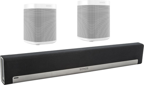Sonos Playbar 5.0 + One (x2) Wit Main Image