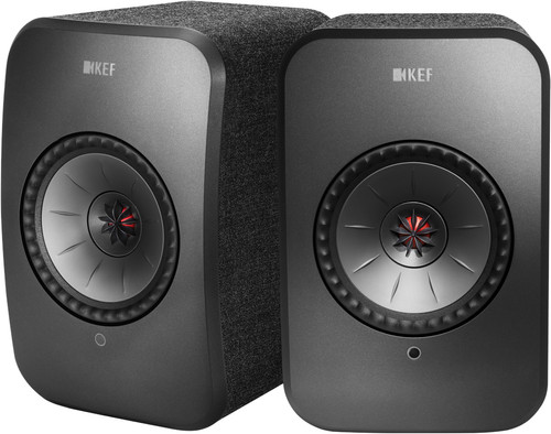 KEF LSX wireless stereo systeem Zwart Main Image