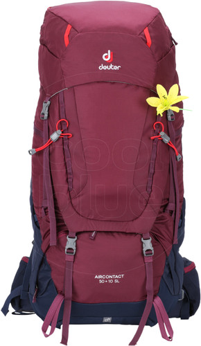 Deuter Aircontact 50 L + 10 L SL Blackberry/Navy Main Image
