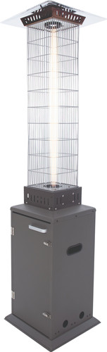 Sunred Atria Flame Heater Grijs Main Image