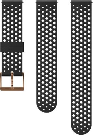 Suunto Athletic 1 20mm Band Silicone Black / Copper Main Image
