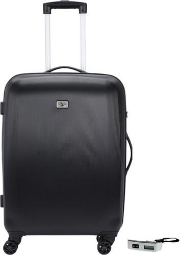 SININ Solid 67cm Zwart + Veripart Digitale Bagageweegschaal Main Image