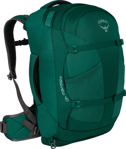 Osprey Fairview 40L Rainforest Green - Slim Fit Main Image