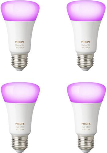 Philips Hue White and Color E27 Bluetooth Lot de 4 Main Image