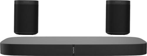 Sonos Playbase 5.0 + One (x2) Zwart Main Image