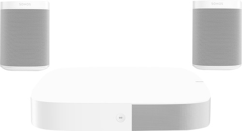 Sonos Playbase 5.0 + One (x2) White Main Image