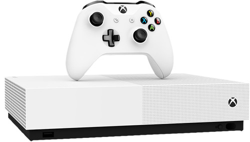 Microsoft Xbox One S All-Digital Edition (1 To) + 3 jeux & V-Bucks Main Image