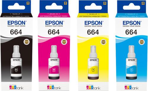 Epson T664 Lot de 4 cartouches Main Image