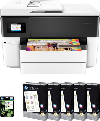 HP OfficeJet Pro 7740 Pack de démarrage Main Image