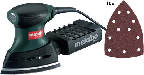 Metabo FMS 200 Intec + Schuurpapierset Main Image