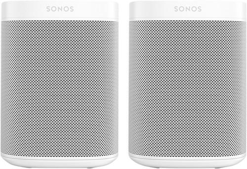 Sonos One + One SL Wit Main Image