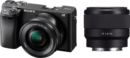 Sony Alpha A6400 + E PZ 16-50mm f/3.5-5.6 OSS + 50mm f/1.8 Main Image