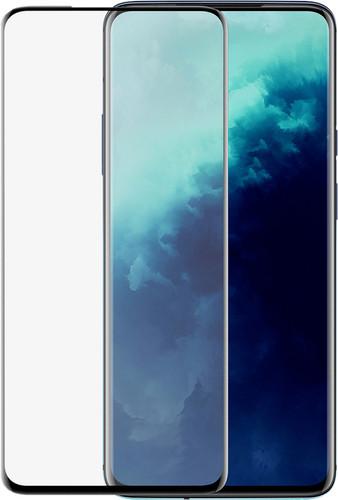 Azuri Rinox OnePlus 7T Pro Screenprotector Gehard Glas Zwart Main Image