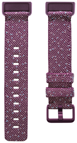Fitbit Charge 4 Nylon Strap Rosewood Size L Main Image