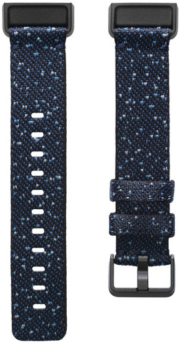 Fitbit Charge 4 Nylon Strap Midnight Size L Main Image