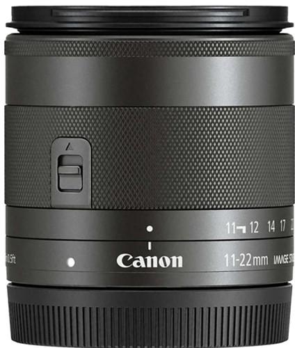 Canon EF-M 11-22mm f/4-5.6 IS STM Noir Main Image