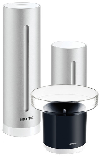 Netatmo Slim Weerstation + Regenmeter Main Image