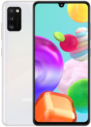 Samsung Galaxy A41 64GB Wit Main Image