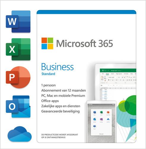 Microsoft 365 Business Standard NL 1 jaar Abonnement Main Image