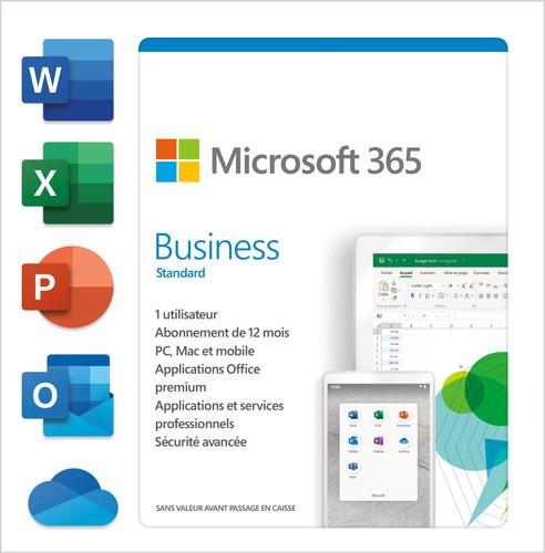 Microsoft 365 Business Standard FR 1 jaar Abonnement Main Image
