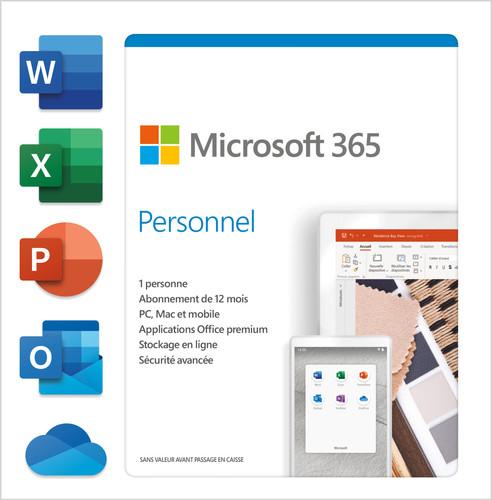 Microsoft 365 Personal FR Abonnement 1 jaar Main Image