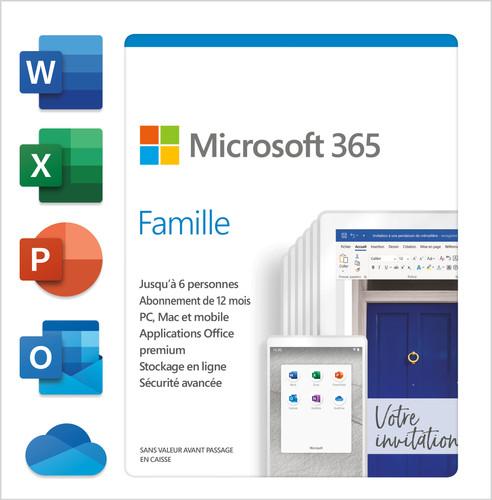 Microsoft 365 Family FR Abonnement 1 jaar Main Image