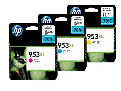 HP 953XL Cartridges Combo Pack Main Image