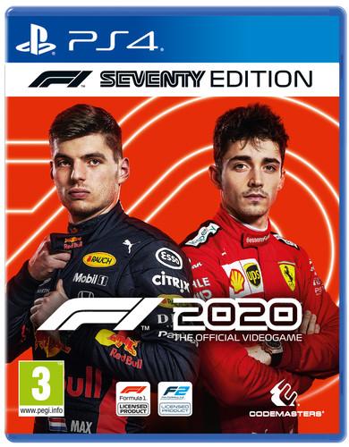 F1 2020 Seventy Edition PS4 Main Image