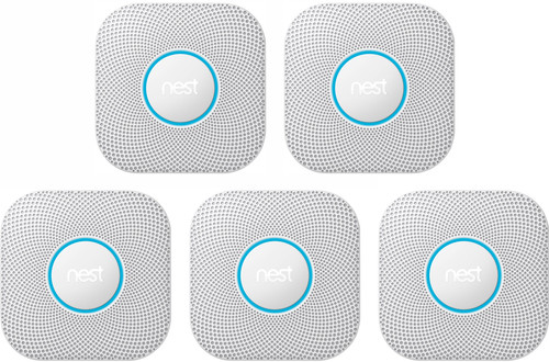 Google Nest Protect V2 (Batterij) 5-pack Main Image